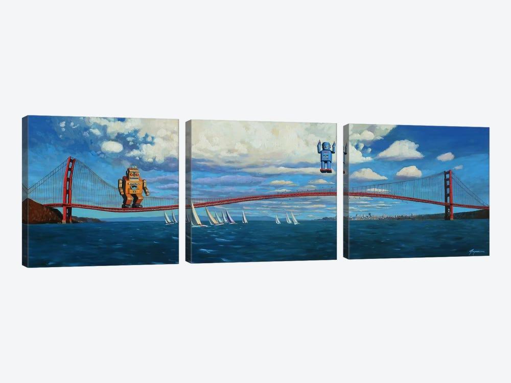 Golden Gaters by Eric Joyner 3-piece Art Print