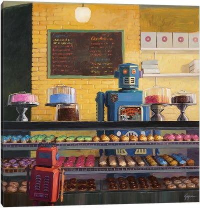 Indecision Canvas Art Print