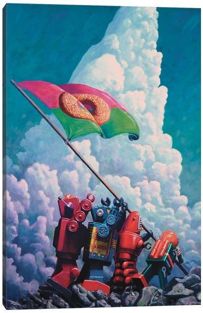 Iogima Canvas Art Print