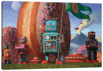 Landing Party 7 Canvas Art Print