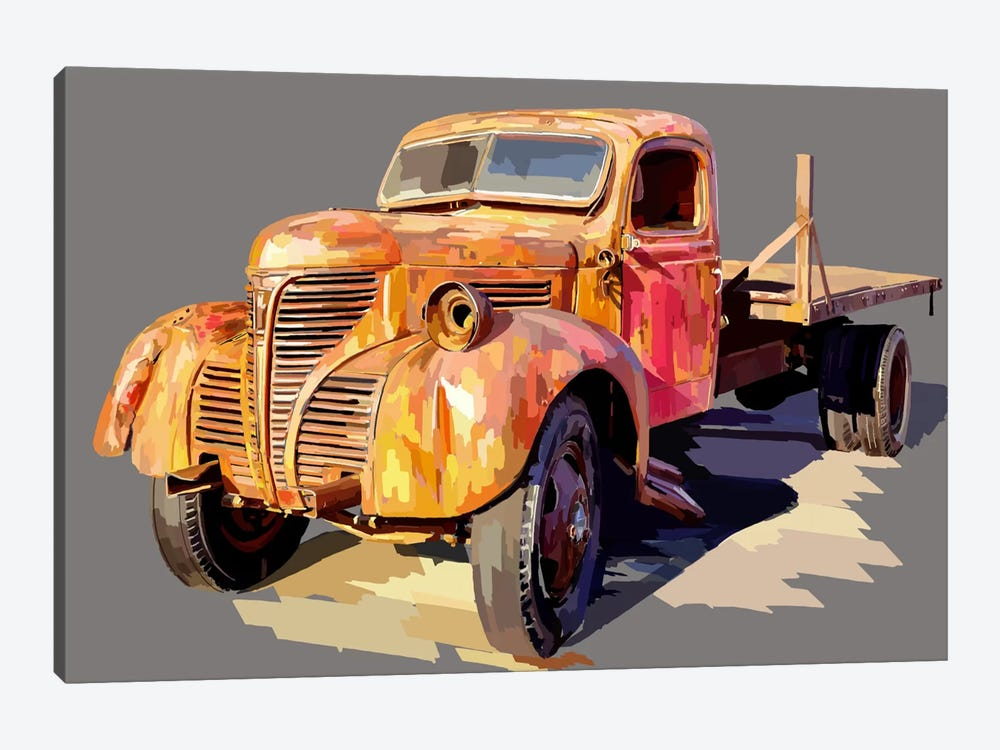 Powerful Truck II 1-piece Art Print