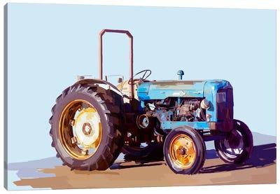 Vintage Tractor I Canvas Print #EKA11