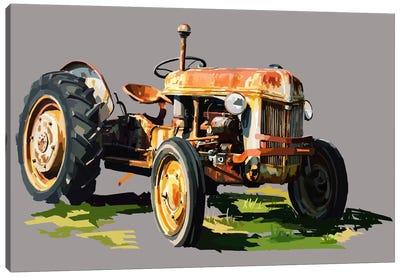 Vintage Tractor II Canvas Print #EKA12