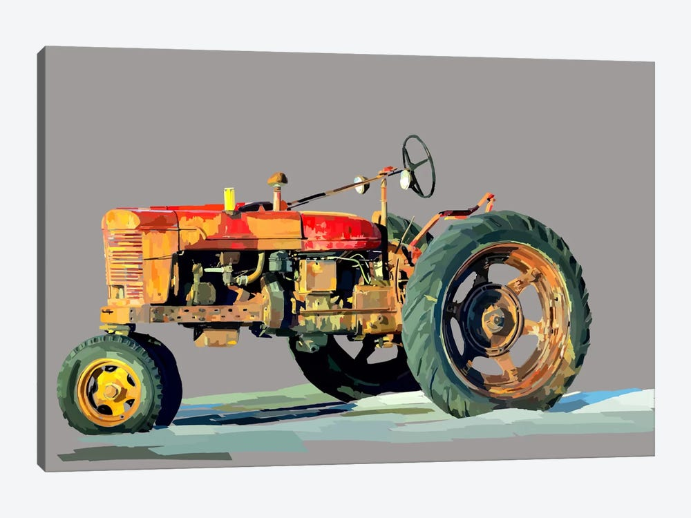 Vintage Tractor III by Emily Kalina 1-piece Canvas Wall Art