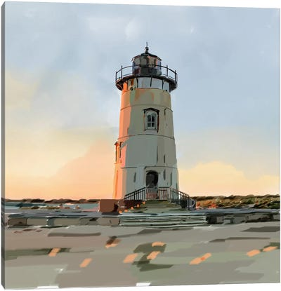 Lighthouse Scene I Canvas Art Print