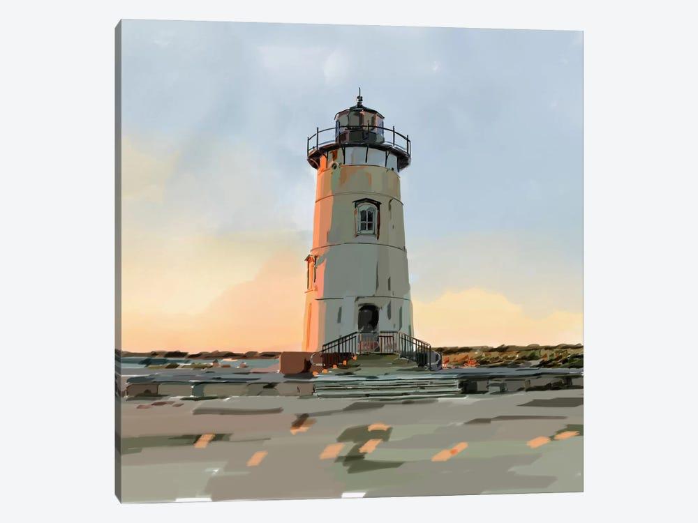 Lighthouse Scene I by Emily Kalina 1-piece Canvas Art