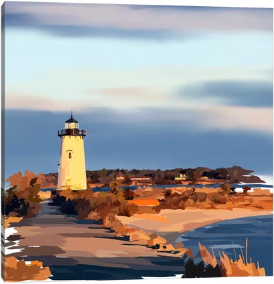 Lighthouse Scene II Canvas Art Print