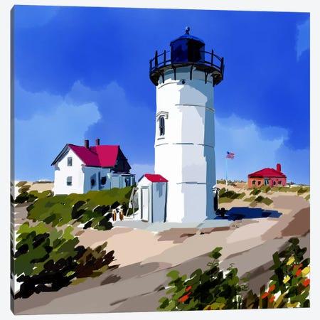 Lighthouse Scene III Canvas Print #EKA19} by Emily Kalina Canvas Artwork