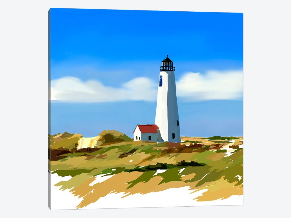 Lighthouse Scene IV by Emily Kalina 1-piece Canvas Art