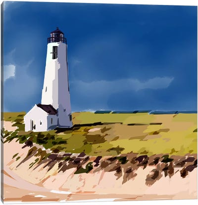 Lighthouse Scene V Canvas Art Print