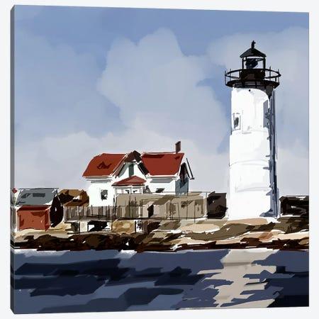 Lighthouse Scene VI Canvas Print #EKA22} by Emily Kalina Canvas Art Print
