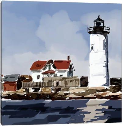 Lighthouse Scene VI Canvas Art Print