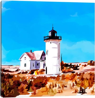 Lighthouse Scene VII Canvas Art Print