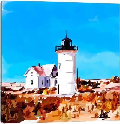 Lighthouse Scene VII Canvas Art Print