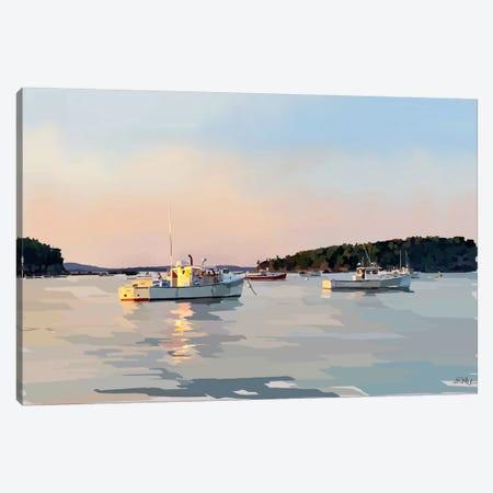 Peaceful Harbor I Canvas Print #EKA25} by Emily Kalina Canvas Artwork