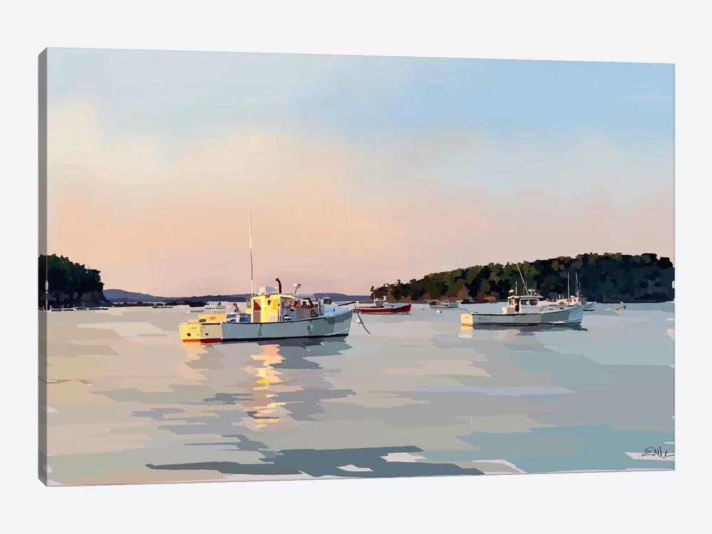 Peaceful Harbor I by Emily Kalina 1-piece Canvas Print