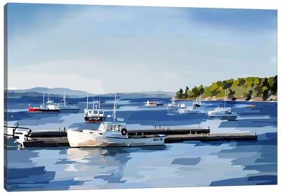 Peaceful Harbor II Canvas Art Print