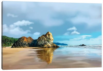 Oregon Coast III Canvas Art Print
