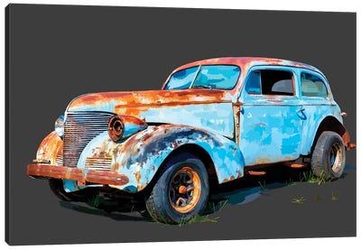 Rusty Car I Canvas Art Print