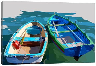 Bold Boats III Canvas Art Print