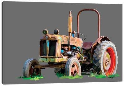 Vintage Tractor X Canvas Art Print