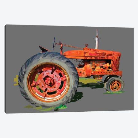 Vintage Tractor XI 3-Piece Canvas #EKA43} by Emily Kalina Art Print