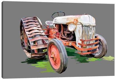 Vintage Tractor XIV Canvas Art Print