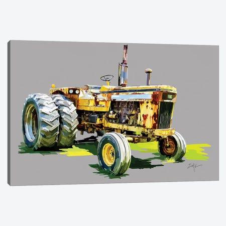 Vintage Tractor XV Canvas Print #EKA47} by Emily Kalina Canvas Art