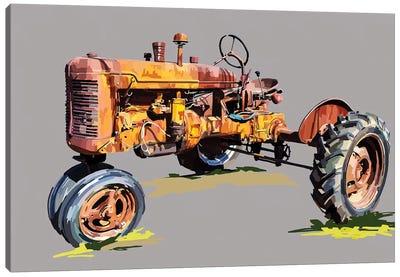 Vintage Tractor XVI Canvas Art Print