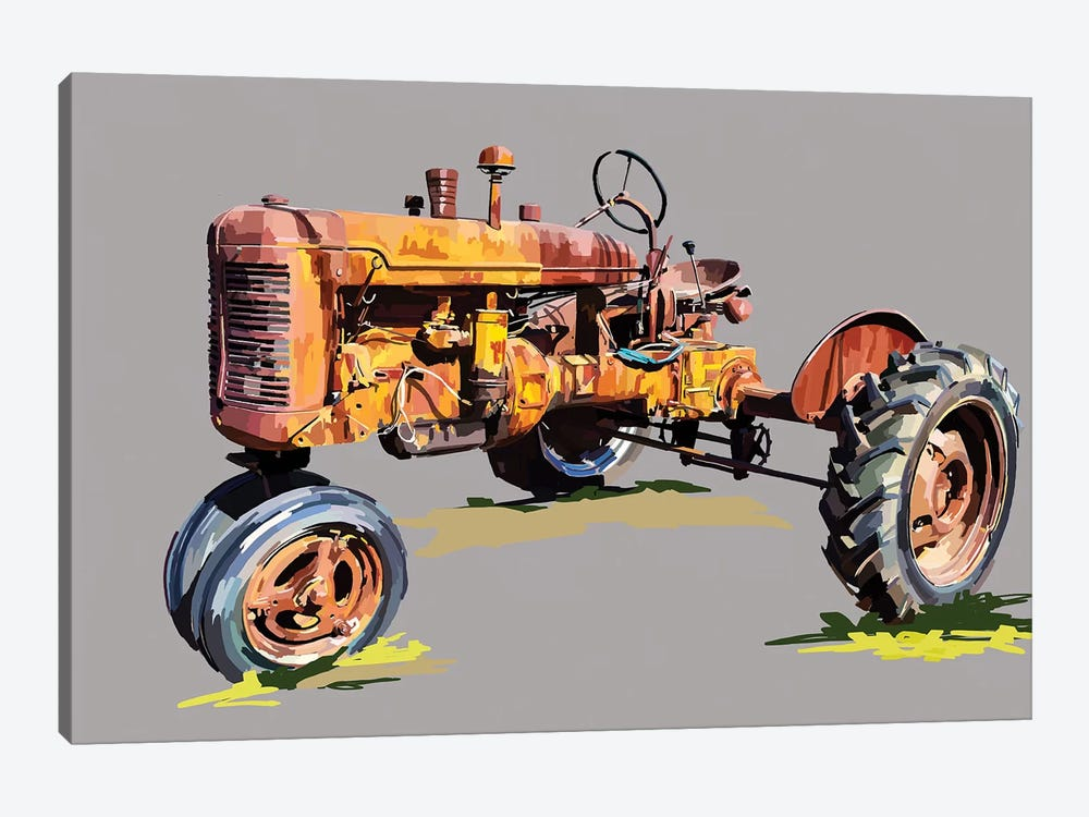 Vintage Tractor XVI by Emily Kalina 1-piece Canvas Art