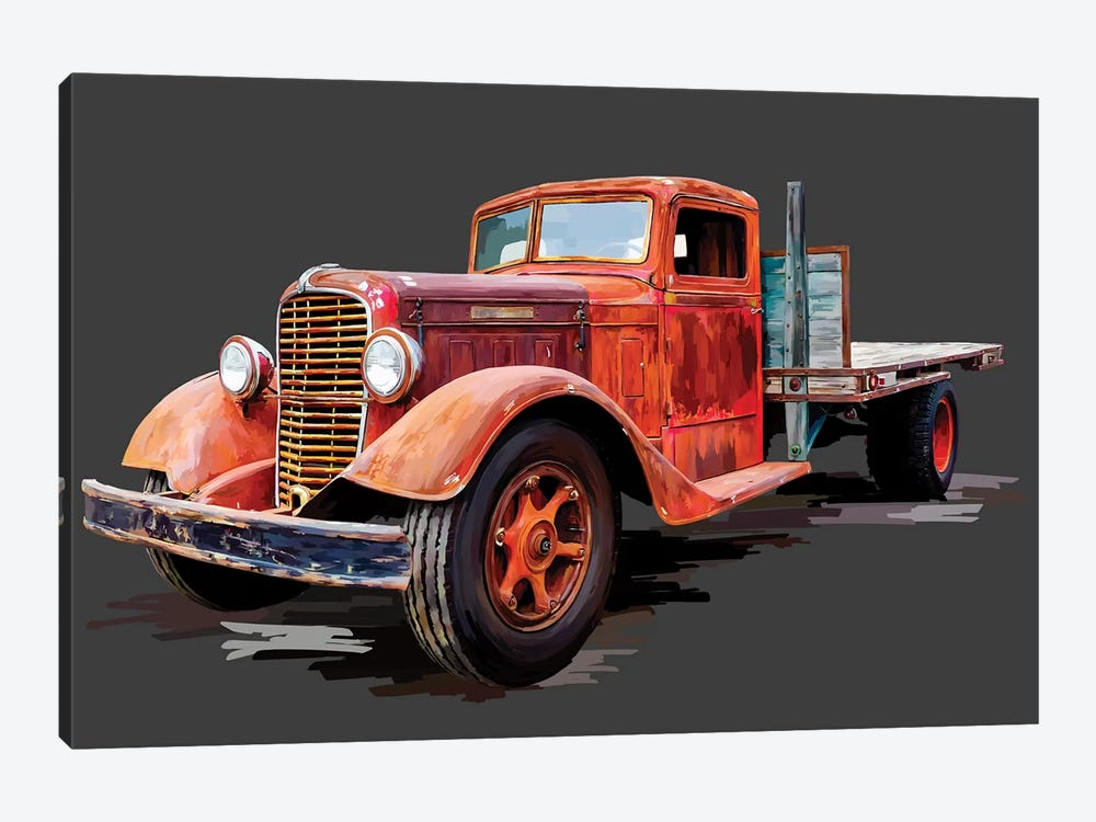 Vintage Truck I by Emily Kalina 1-piece Canvas Art Print