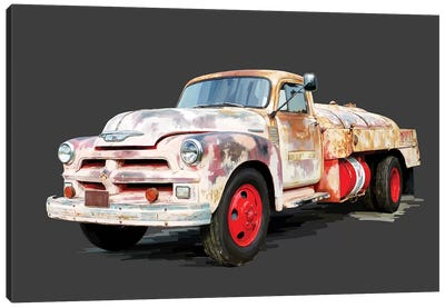Vintage Truck II Canvas Art Print
