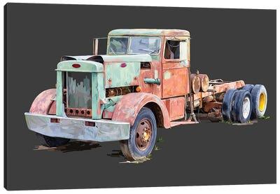 Vintage Truck III Canvas Art Print