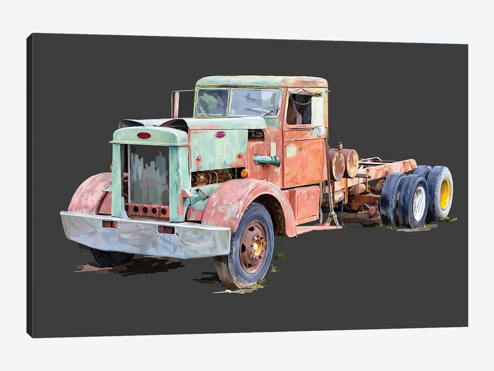 Vintage Truck III by Emily Kalina 1-piece Canvas Wall Art