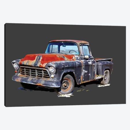 Vintage Truck IV 3-Piece Canvas #EKA52} by Emily Kalina Canvas Artwork