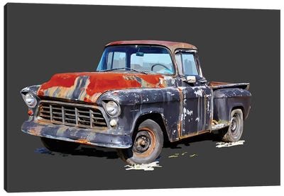 Vintage Truck IV Canvas Art Print