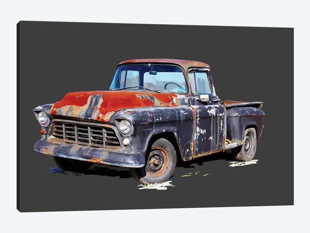 Vintage Truck IV by Emily Kalina 1-piece Canvas Print