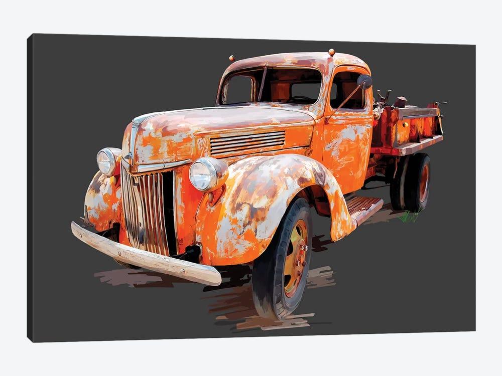 Vintage Truck V by Emily Kalina 1-piece Canvas Artwork