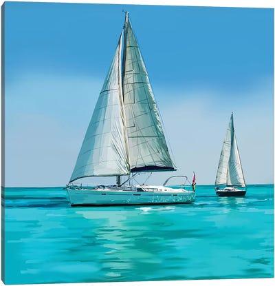 Sailing Portrait IV Canvas Art Print