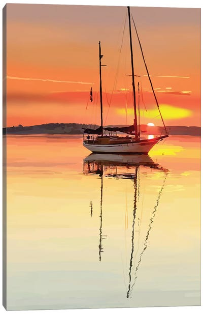 Sailing Portrait V Canvas Art Print