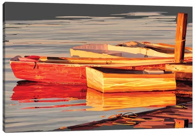 In the Golden Light I Canvas Art Print