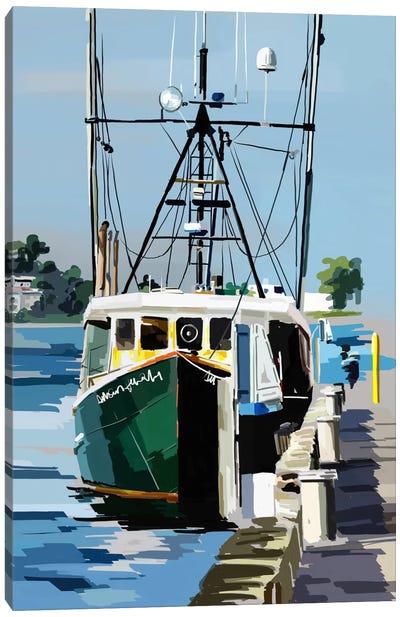 Bold Boats VI Canvas Art Print