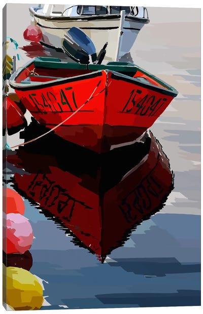 Bold Boats VII Canvas Art Print