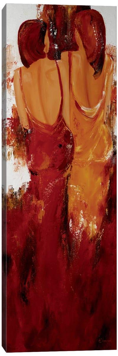 Deux Canvas Art Print