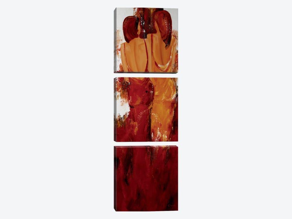 Deux by Mieke Chantrel 3-piece Canvas Artwork
