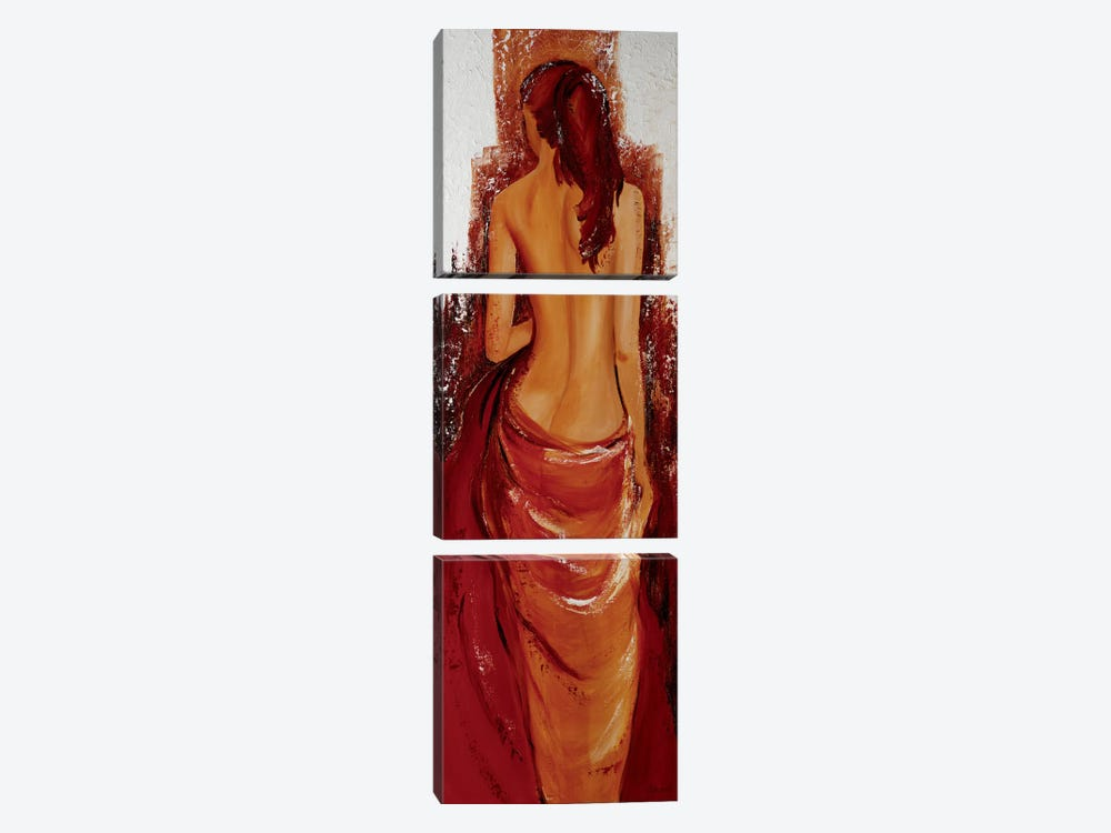 Fille d'O by Mieke Chantrel 3-piece Canvas Print