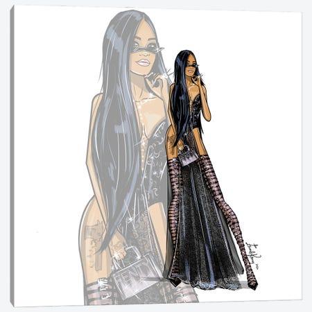 Rihanna Canvas Print #EKN10} by Emma Kenny Canvas Print