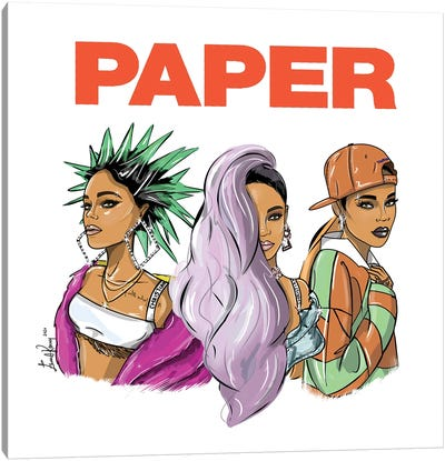 Rihanna, Break The Rules Canvas Art Print