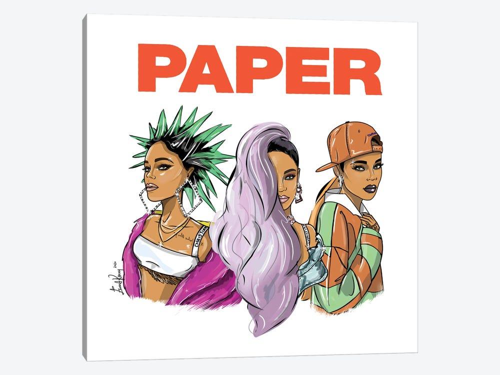 Rihanna, Break The Rules by Emma Kenny 1-piece Canvas Artwork
