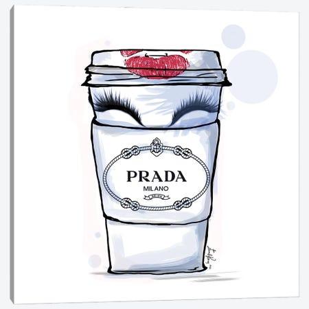 Prada Canvas Print #EKN17} by Emma Kenny Canvas Artwork